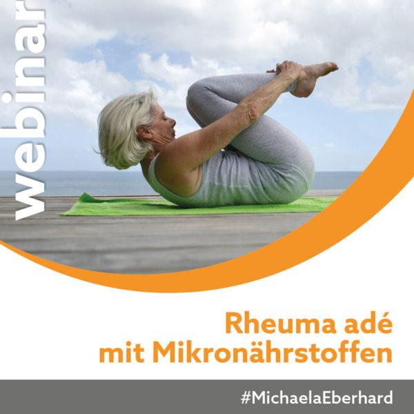 Webinar Rheuma adé mit Mikronährstoffen