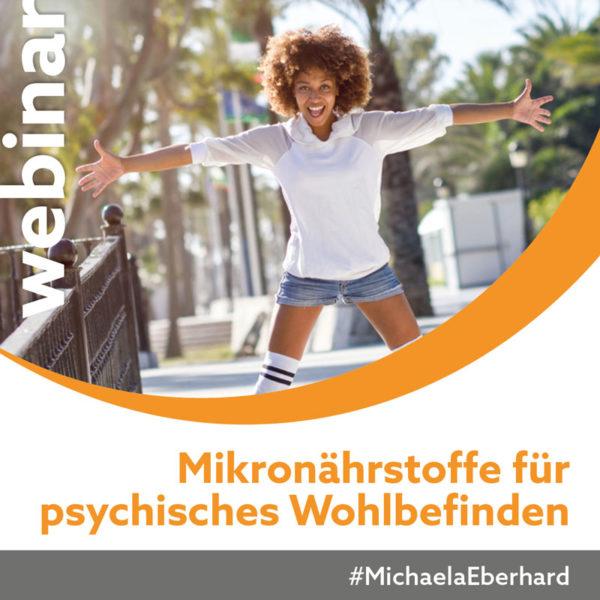 Fokus Gesundheit Webinar Mikronährstoffe für psychisches Wohlbefinden